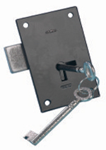 B6877 Light Duty Straight Cupboard Lock
