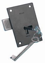 B6877 Light Duty Straight Cupboard Lock