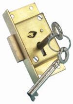 B6412 Heavy Duty Cut Cupboard Lock