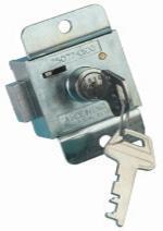 B6437 7 Lever Locker Lock