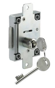 S1310SNF 6 Lever Slam Lock c/w Nozzle & Flange