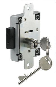 S1311NF 7 Lever Safe Lock c/w Nozzle & Flange