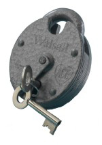 """Walsall"" Close Shackle 5 Lever Padlock"