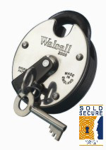 """Walsall 2000"" High Security 5 Lever Padlock"