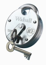 """Walsall ZP"" Close Shackle 5 Lever Padlock"