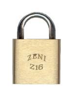 "Z16 ""ZENI"" 51mm Brass Cylinder Padlock"
