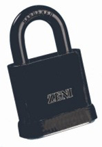 "Z21 ""ZENI"" 50mm Open Shackle Padlock"